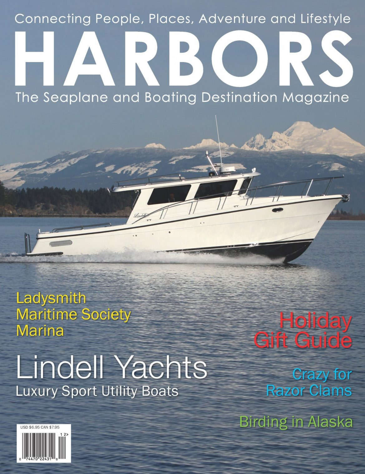 Harbors magazine features Ladysmith Community Marina!